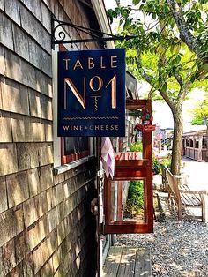 Shopping the Wharf on Nantucket | Table No. 1