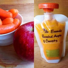 Emma's Roasted Apples & Carrots