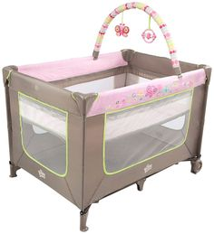 Bright Starts Pretty in Pink Playard - Flutter Dot - Free Shipping