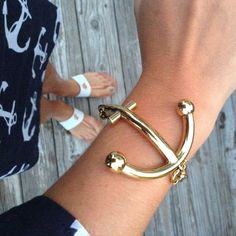 Fancy - Anchors Away Bracelet by Kate Spade