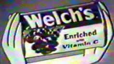 Commercial - Welch's Frozen Grape Juice w/The Flintstones