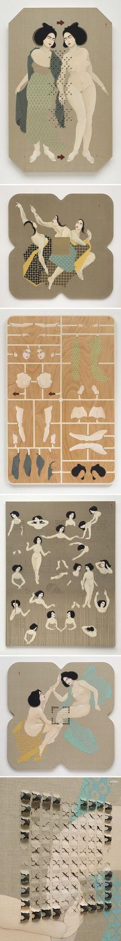 The Jealous Curator /// curated contemporary art /// hayv kahraman