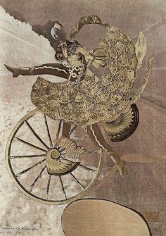 Hannah Höch. Hungarian Rhapsody. 1940. Kurt Schwitters, Dada Artists, Collage Artists, Art Collages, Cindy Sherman, Photomontage, Hannah Hoch Collage, Bauhaus, Hannah Höch