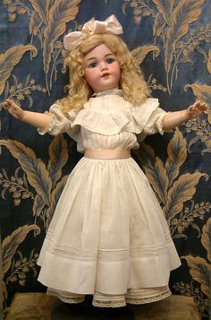 "The Most Beautiful 26"" Simon & Halbig Santa for Hamberger All Antique Doll"