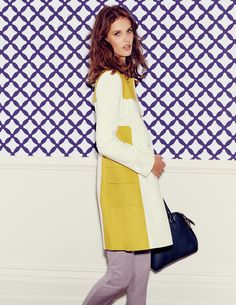 Lara Coat WE477 Coats at Boden