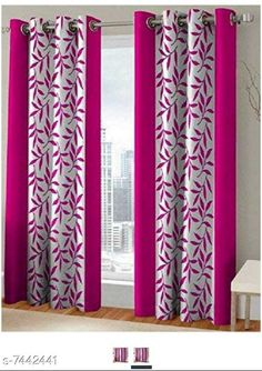 Checkout this latest Curtains_500-1000 Product Name: *Blissful House Charming Leaf Pink Curtain Pack of 2 Pieces    Premium Stuff    Quality Stitching * Material: Polyester Length: Window Multipack: 2 Sizes:  7 Feet (Length Size: 7 ft Width Size: 4 ft)  9 Feet (Length Size: 9 ft Width Size: 4 ft)  5 Feet (Length Size: 5 ft Width Size: 4 ft) Country of Origin: India Easy Returns Available In Case Of Any Issue   Catalog Rating: ★3.9 (320)  Catalog Name: Classic Stylish Curtains & Sheers CatalogID_1196457 C54-SC1116 Code: 863-7442441-9941