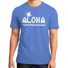 ALOHA District T-Shirt (on man)