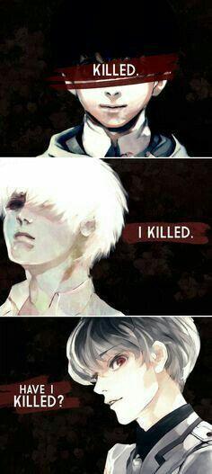 Killed - Kaneki Ken ( Season I have killed- Kaneki Ken ( Season Have I Killed?-Sasaki Haise ( Tokyo Ghoul Re:) Manga Anime, Film Anime, Art Manga, Anime Art, Otaku, Ken Kaneki Tokyo Ghoul, Tokyo Ghoul Cosplay, Tokyo Ghoul Quotes, Tsurezure Children