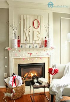 Valentines decor by 724 South House