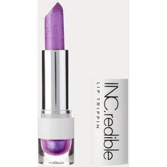 INCredible Lilac strobe lipstick ($11) ❤ liked on Polyvore featuring beauty products, makeup, lip makeup, lipstick and purple