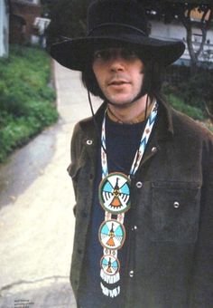 Neil Young -- Once had a seizure on stage during a concert.