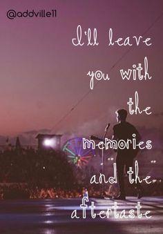 Aftertaste ~ Shawn Mendes ❤️ Handwritten
