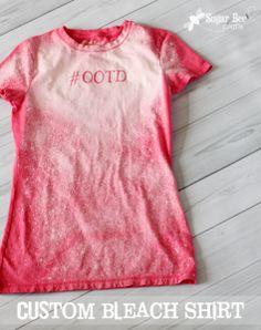 Bleach T Shirt: Summer Fun Series - Girl Loves Glam