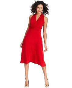 $50 Evan Picone Dress, Sleeveless Marilyn - Dresses - Women - Macys