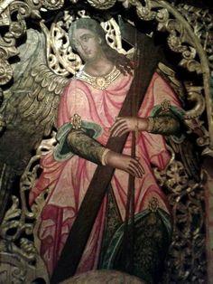 Σύμφωνα με την Ορθόδοξη θεολογία, όπως συνοψίζεται στην διδασκαλία του αγίου Ιωάννου του Δαμασκηνού, οι άγγελοι είναι υπάρξεις πνευματικές, αεικίνητες, ελεύθερες, ασώματες, που υπηρετούν τον Θεόν και είναι κατά χάριν αθάνατες. Orthodox Icons, Holidays And Events, Spirituality, Faith, Statue, Cyprus, Jerusalem, Angels, Painting