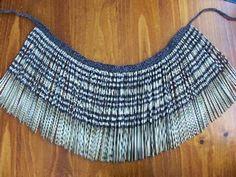 Traditional Maori Flax Piu Piu for sale on Trade Me, New Zealand's auction and classifieds website Flax Weaving, Hand Weaving, Maori People, Maori Designs, Art Diary, Maori Art, Kiwiana, Weaving Projects, Weaving Patterns