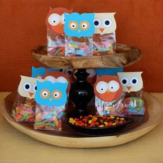 Owl party favors - cute :)