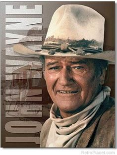 "John Wayne""The Duke"" Portrait Poster x Wall Print Art-Famous Cowboy Pose-Stagecoach Silhouette- Ready to Frame. Retro Western Decor-Home-Office-Man Cave. Perfect Gift for John Wayne Fans."