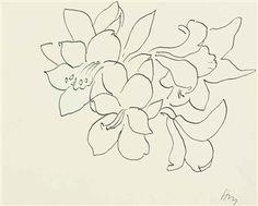 Fleurs et feuilles By Henri Matisse