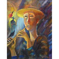 Musicians, oil on canvas, 54 x 46 cm, by Todor  Ignatov - Toni  http://buyart.tonyignatov.eu/