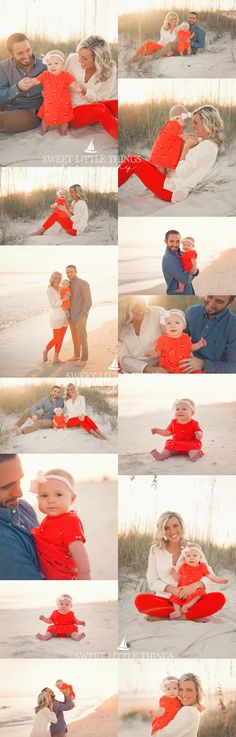 Gulf Shores & Orange Beach Photographer | Family Beach Session | Sweet…