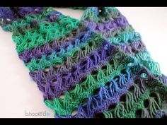 Broom Stick Stitch Scarf | How to Crochet a Scarf: Broomstick Lace Infinity Scarf Free Crochet  aunblues.com