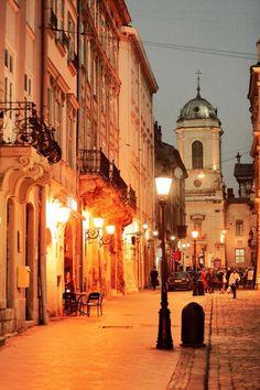 Lviv. UKRAINE, from Iryna
