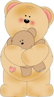 Bear Hugging a Teddy Bear
