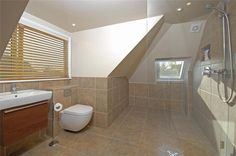 Wet Room Design #DisabledBathroomIdeas >> Learn how to create a safe, accessible bathroom at home at http://www.disabledbathrooms.org/