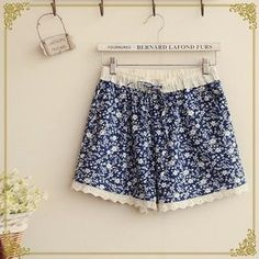 Buy 'Fairyland – Lace-Trim Print Shorts' with Free International Shipping at YesStyle.com. Browse and shop for thousands of Asian fashion items from China and more!
