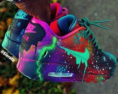 Top 10 air max 90 customs sneakerz page 5 shoes & boots zapatos nike, z Cute Nike Shoes, Cute Sneakers, Sneakers Nike, Neon Nike Shoes, Nike Neon, Nike Basketball Shoes, Jordan Shoes Girls, Girls Shoes, Shoes Women
