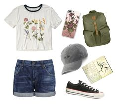 """""""Summer nostalgia"""" by sofiapetronella on Polyvore featuring Converse, Citizens of Humanity, Abercrombie & Fitch, Casetify, Fjällräven, SO and Moleskine"""