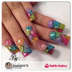 Nail art Fabulous Nails, Gorgeous Nails, Pretty Nails, Galeries D'art D'ongles, Nail Art Designs, French Manicure Gel Nails, Exotic Nails, Hot Nails, Fancy Nails