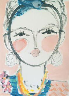Leslie Weaver Art on Miss Moss