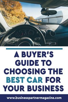 Buying a car for your business is an important milestone in your journey, but it's pretty easy to make mistakes - especially if you're new to it. #businesscar #vehicles #bestcar