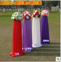 Factory direct wholesale wedding props road full scene layout special road flower shelf