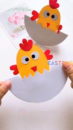 Animal Crafts For Kids, Spring Crafts For Kids, Paper Crafts For Kids, Craft Activities For Kids, Toddler Crafts, Preschool Crafts, Summer Art Projects, Toilet Paper Crafts, Preschool Colors
