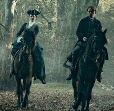 Geneva and Jamie Fraser in Outlander 3
