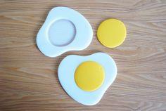 蛋煎隔熱墊 Egg Pad - mongma | 夢馬 | Pinkoi