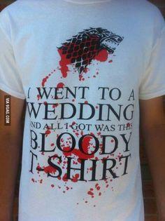 Wedding favor. GoT wedding. Red Wedding