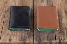We carry a range of men's leather wallets.