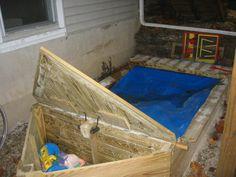 Boat Sandbox - by Wingstress @ LumberJocks.com ~ woodworking community