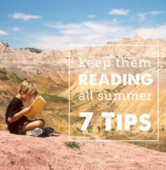 Solid tips on how to use summer to give your kids a love of reading - from the nonprofit organization Raising a Reader // Modern Parents Messy Kids Reading Strategies, Reading Activities, Time Activities, Family Activities, Outdoor Activities, Summer School, Summer Kids, Fun Learning, Teaching Kids
