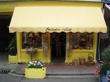 Yellow shop front