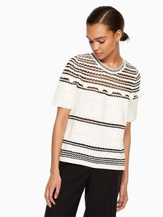 kate spade new york pom swing sweater | Knitty•and•Witty ...