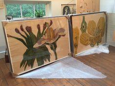 Galerie Maximillian owner, Albert Sanford, recently visited the studio of Sarah Graham. View photos from the studio visit, and see Graham's workspace. Sarah Graham Artist, Flower Model, Arts Award, Art File, Artist Art, Botanical Prints, Art Inspo, Flower Art, Amazing Art