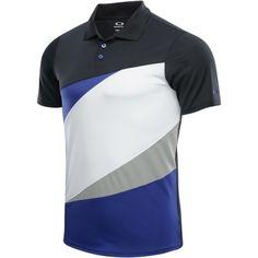 Oakley Men's Color Block Polo Golf Shirt - Spectrum Blue