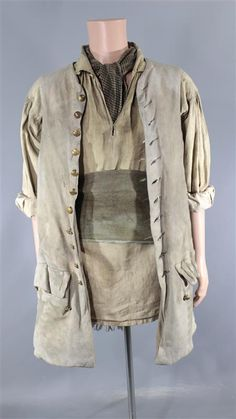 BLACK SAILS DEGROOT ANDRE JACOBS SCREEN WORN PIRATE COSTUME MULTIPLE EPISODES
