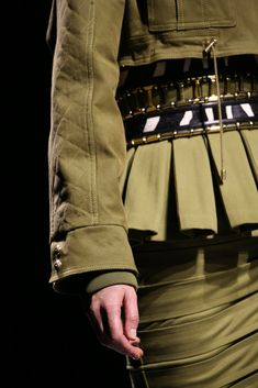 Balmain Fall 2014 Ready-to-Wear Fashion Show Details