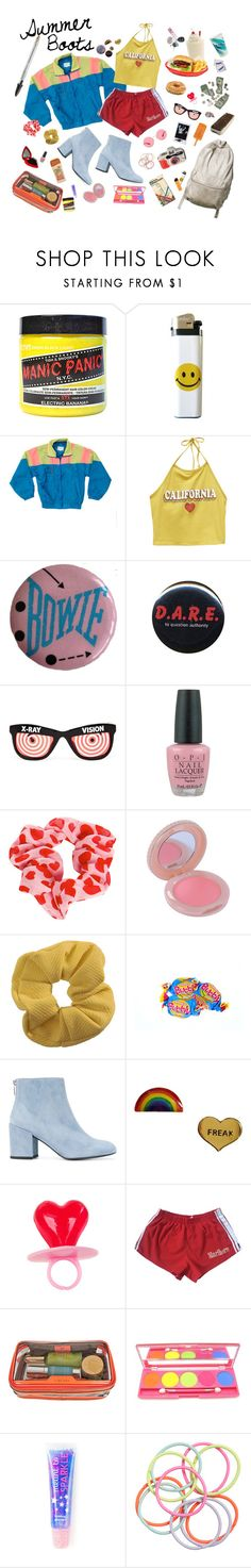 """""""Summer Boots"""" by gwendolynmia ❤ liked on Polyvore featuring Manic Panic NYC, Wet Seal, Ultimate, Jeremy Scott, OPI, Boohoo, Keen Footwear, Paul & Joe, Topshop and Stuart Weitzman"""